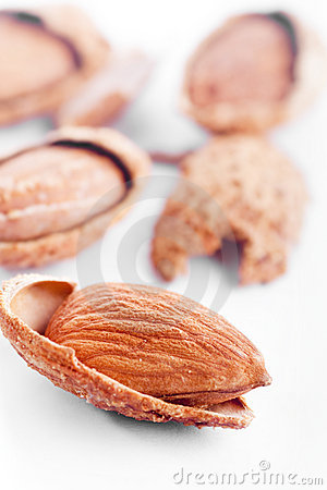Free Almond Nuts Royalty Free Stock Photography - 9469437