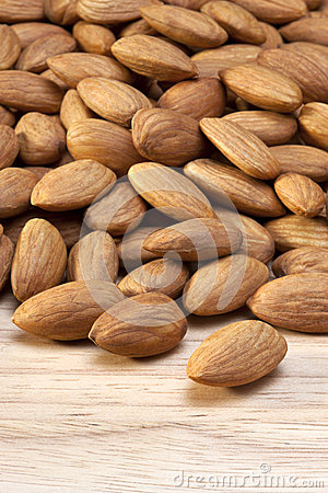 Almonds Almond Nuts Food