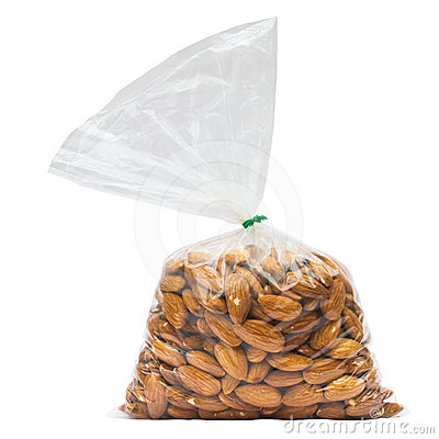 Almonds in Bag
