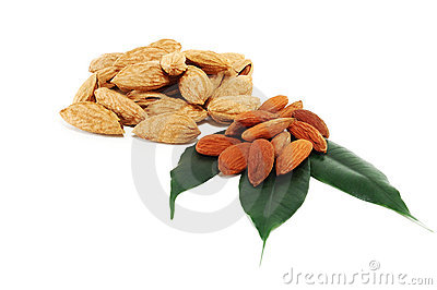 Almonds grain