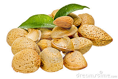 Almonds with kernel