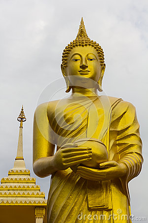 Free ALMS Stucco Buddha Stock Photography - 54264692