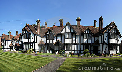 Almshouses terraced cottages tring hertfordshire
