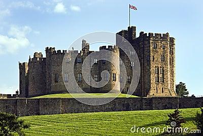 Alnwick Castle - England Editorial Photo
