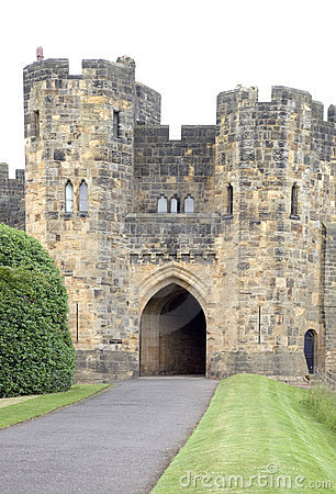 Alnwick Castle Gatehouse