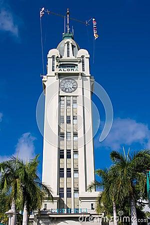 Free Aloha Tower Stock Photography - 2774502