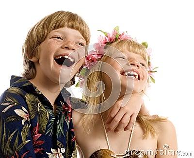 Aloha Twins!
