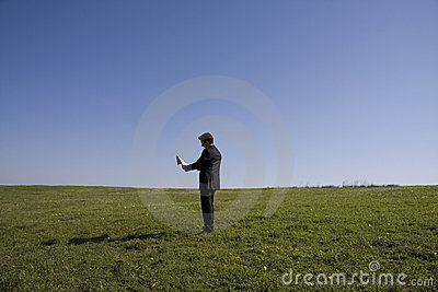 Alone Royalty Free Stock Photography - Image: 8696317