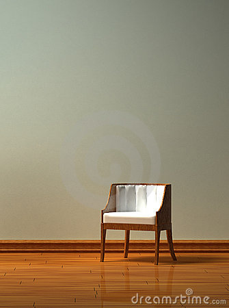 Free Alone Chair Stock Photography - 9828522