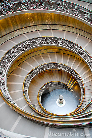 Alone On the Vatican s Spiral Walkway