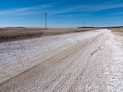 Along the loneliest road in America