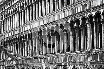 Along Piazza San Marco, Venice