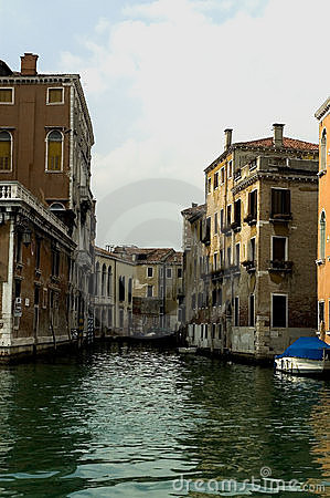Free Along The Streets Of Venice Royalty Free Stock Photo - 120885