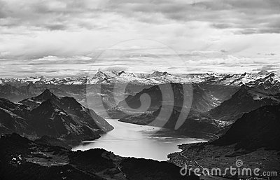 Alpen, die Schweiz