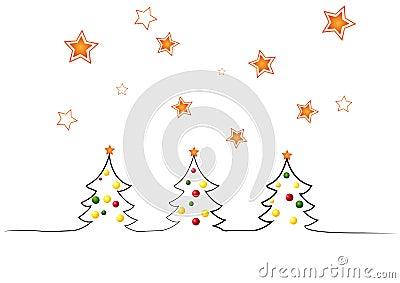 χριστουγεννιάτικα δέντρ&alph