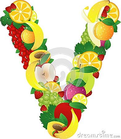 Alphabatical fruits