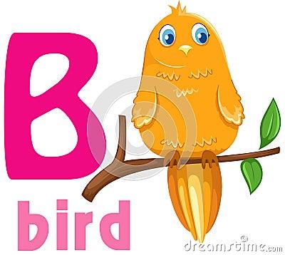 Alphabet animal B