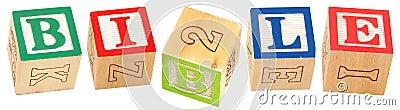Alphabet Blocks BIBLE