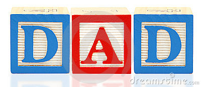 Alphabet Blocks DAD