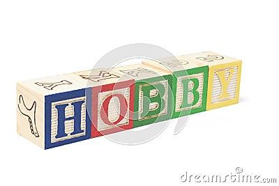 Alphabet Blocks - Hobby