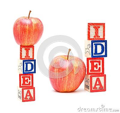 Alphabet Blocks IDEA