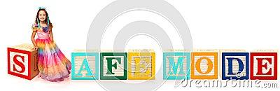 Alphabet Blocks SAFE MODE