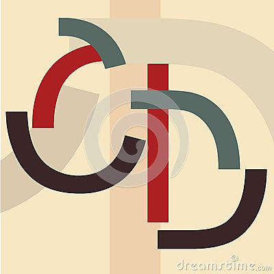 Alphabet C, D