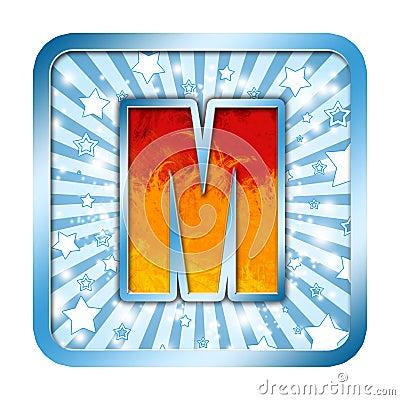Alphabet Celebration letters M