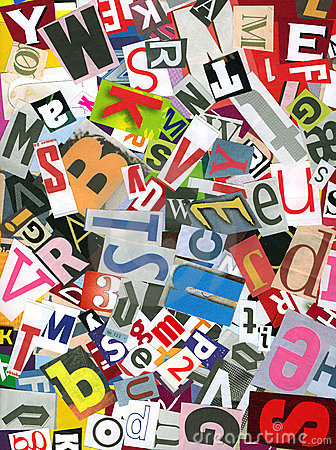 Free Alphabet Chaos Stock Images - 1199144