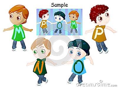 Alphabet of childrens