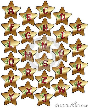 Alphabet christmas