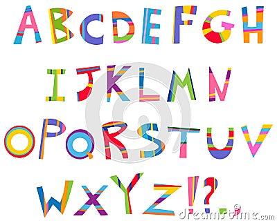 Alphabet d amusement