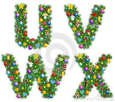 Alphabet de Noël