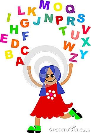 Alphabet juggle