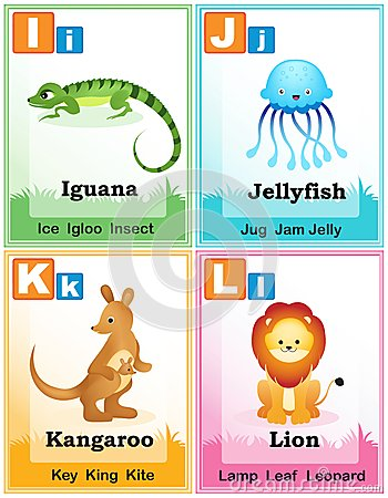 Alphabet learning book page 3