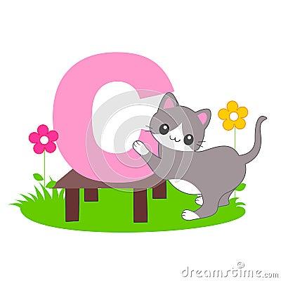 Alphabet letter - C  [Animal]