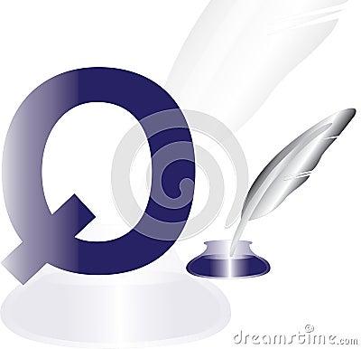 Alphabet Q for yoyo
