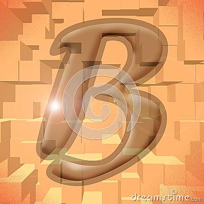 Alphabet series: letter B