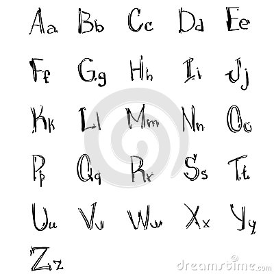 Common Worksheets capital letters and small letters : Small And Capital Letters Stock Photo - Image: 15743610