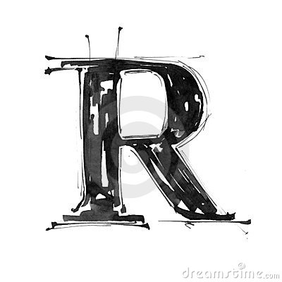 Free Alphabet Symbol - Letter R Stock Photography - 4738652