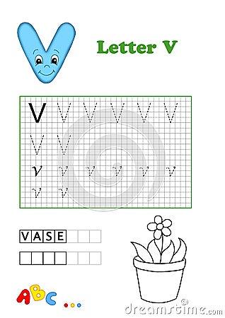 Alphabet, Vase