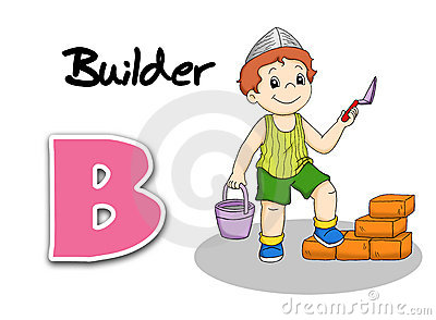Alphabet workers - builder