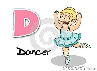 Alphabet workers - dancer