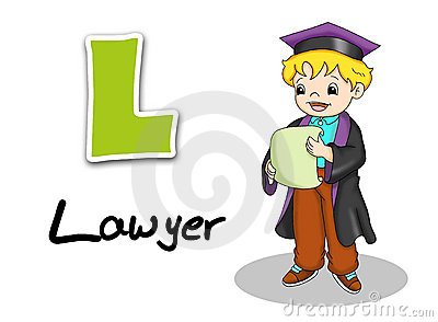 Alphabet workers - lawyer