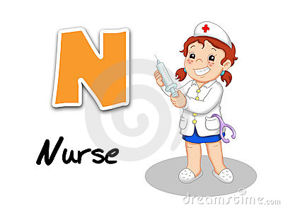 Alphabet workers - nurse