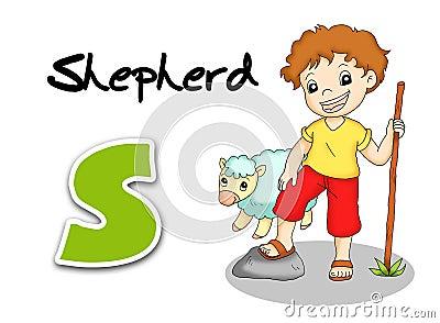 Alphabet workers - shepherd
