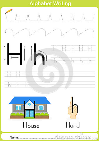 Alphabet A-Z Tracing Worksheet, Exercises For Kids - A4 Paper ...