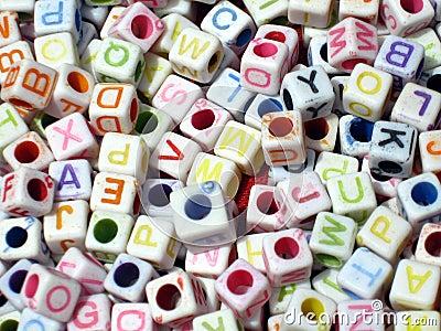Alphabetical Letter Blocks