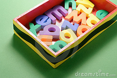 Alphabets in Box