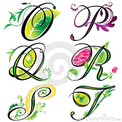 Free Alphabets Elements Design - S Stock Photography - 4026502